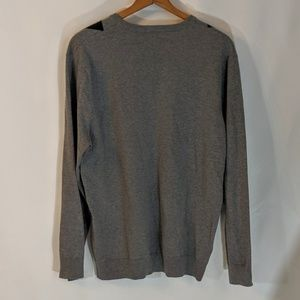 Old Navy Sweaters - Grey Argyle Sweater sz XL Old Navy